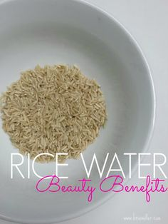 KRISI MILLER > RICE WATER BEAUTY SECRETS