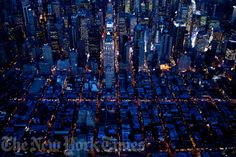awesome Gotham Grid at Night time 2011