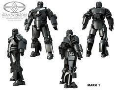 The Stan Winston Studio Mark I model based on the Ryan Meinerding Photoshop design.