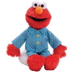 Make the transition from story time to Sleepy Time with our soft plush Sesame Street Elmo in his PJ's. Sleepy Time Elmo, officially licensed and mfr by GUND. Baby Toys, Kids Toys, Toddler Toys, Black Friday Toy Deals, Cute Plush, Plush Animals, Plush Dolls, Dinosaur Stuffed Animal, Toys