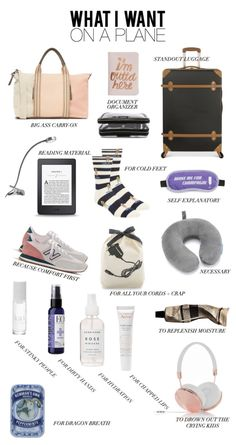 Airplane essentials carry on bag essentials, airplane essentials, road trip Airplane Essentials, Backpack Essentials, Travel Bag Essentials, Travel Necessities, Travel Toiletries, Holiday Essentials, Vsco Essentials, Road Trip Essentials, Summer Essentials