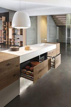 cucina scavolini nuova ,prezzo outlet esposta in negozio,in fenix ...
