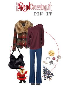 """""""Christmas pins"""" by trendcrossing on Polyvore featuring moda, Joe Browns, Marc Jacobs e Christmaspins"""