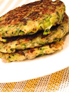 Edible Life in YYC: My Favourite Fritters - Zucchini fritter recipe