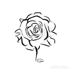 Floral Sketch Prints by OnRei at AllPosters.com