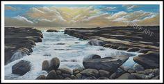 Merrin Jeff Artist  #featureartist #artcloud #DYI #seascape