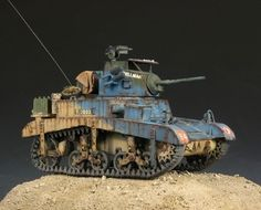 Pre Order Built Academy 1 35 M3A1 Stuart Light Tank Diorama Accessories | eBay
