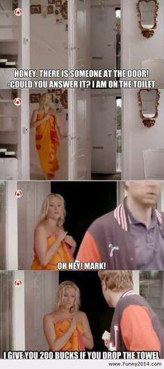 Drop the towel | Funny2014