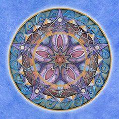 Mandala Paintings - Truth Mandala by Jo Thomas Blaine