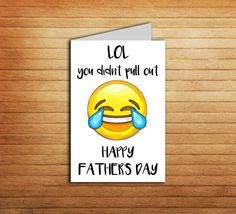 Funny Fathers Day Card Printable Father's Day by EnjoyPrintable