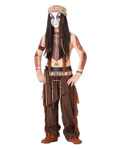 Lone Ranger Tonto Boys Costume