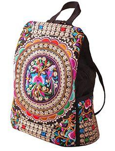 LeaLac Vintage Women Canvas Backpack Handmade Embroidered... https://www.amazon.com/dp/B072Z6GX6W/ref=cm_sw_r_pi_dp_U_x_SLItBb8Z216WT