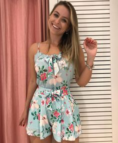 Swans Style is the top online fashion store for women. Shop sexy club dresses, jeans, shoes, bodysuits, skirts and more. Summer Outfits, Cute Outfits, Summer Dresses, Look Fashion, Womens Fashion, Fashion Design, Floral Dress Outfits, Frack, Playsuits