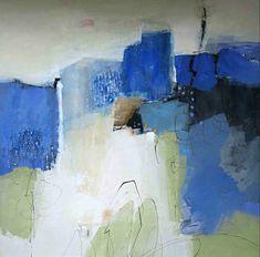 abstrakte Malerei Acryl-Mischtechnik.  Renate Migas