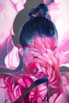"""wallflower"" - 60""x90"" - oil on canvas - Jen Mann -- for  show ""Q & A"" november 20 in toronto at NSC -- www.jenmann.com"