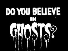 New Custom Screen Printed T-shirt Do You Believe In Ghosts?  Hal