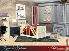 Kenwood Bedroom by Lulu265 - Sims 3 Downloads CC Caboodle||| OMG ITS SO FREAKING CUTE