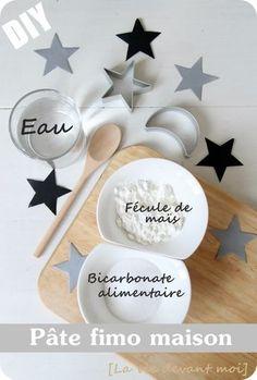 """* DIY: Pâte """"fimo"""" maison pour décos de NOEL! - La vie devant moi"""