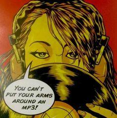 Vinyl record music art …