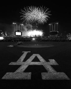 dodger stadium black and white | ... blue Los Angeles fireworks scenery LA Baseball Dodgers Dodgers Stadium