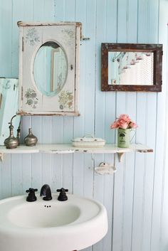 charming country bath
