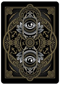 Playing Card Exploration by Joshua M. Smith, via Behance