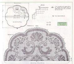Kira scheme crochet: Scheme crochet no. 1655