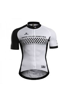 Men's Quick Dry Short Sleeve White Road Bike Jerseys Online Sale
