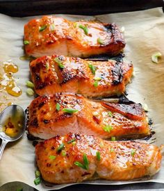 ThisBaked Thai Salmon With Sweet Chilli Sauce is on myhellip