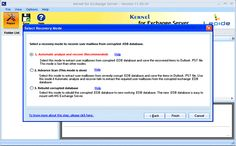 Rebuild EDB Database File With Kernel for Exchange Recovery