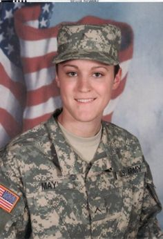 Karen Appleby and family will be wearing red in honor of Sgt. Lauren May who returned home Memorial Day weekend from a 5 year long tour of duty as an MP in Fort Leavenworth, Kansas. Welcome home Lauren!