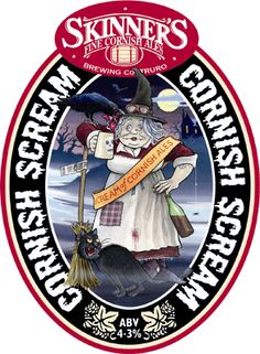 CORNISH SCREAM | Skinner's Brewery | Truro, Cornwall     ✫ღ⊰n