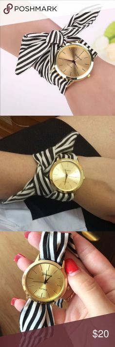 Gold wrap around wristwatch New. Fits all! Accessories Watches
