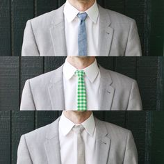 men's skinny tie DIY from A Beautiful Mess.  dear men in my life, you'll be getting these as gifts soon.