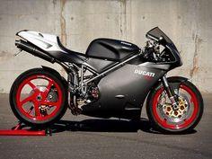 Ducati 748 - satin finish
