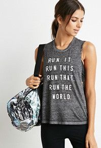 Burn-out muscle tee