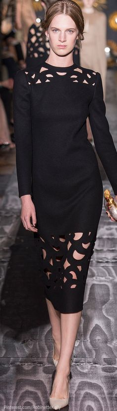 #Valentino Haute Couture Fall/Winter 2013 -2014 #LBD