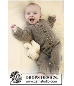 ALPACA Baby Jumpsuit  Handknit Baby overall by Yaguarete on Etsy, $95.00