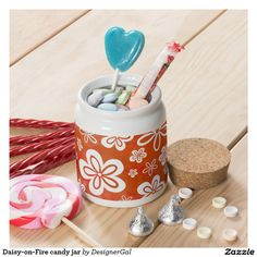 Choose from a variety of Christmas candy jars or design your own! Christmas candy jars from Zazzle. Shop now for custom candy jars & more! Christmas Jars, Christmas Candy, Candy Jars, Candy Dishes, Different Kinds Of Art, Cute Scarfs, Custom Candy, Retro Floral, Fun Cookies