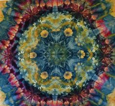 In the Kaleidoscope! Snow & Ice Dyeing Tutorial