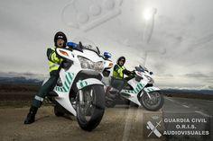 Motos de la Guardia Civil de Tráfico