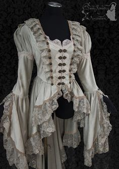 victorian steampunk art nouveau waistcoat by SomniaRomantica on DeviantArt Victorian Steampunk, Victorian Fashion, Vintage Fashion, Victorian Art, Pretty Outfits, Pretty Dresses, Cool Outfits, Fashion Week, Fashion Outfits
