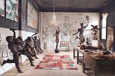 HOME & GARDEN: La maison atelier d'un artiste en Australie