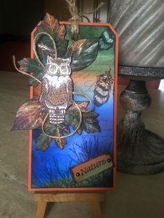 Art Journey Design-team Art Pieces, Journey, Owls, Nature, Artwork, Cards, Inspiration, Painting, Stamps