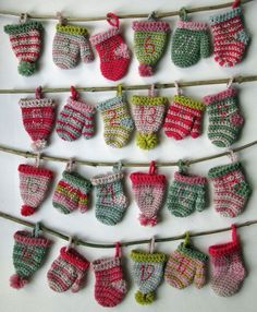 24 Days 'til Christmas! Crochet pattern by Sew Silly Lily - 24 Days 'til Christmas! Crochet pattern by Sew Silly Lily - Crochet Christmas Decorations, Christmas Knitting Patterns, Christmas Crafts, Crochet Christmas Stockings, Knit Christmas Ornaments, Christmas 24, Crochet Advent Calendar, Crochet Phone Cases, Tiny Gifts