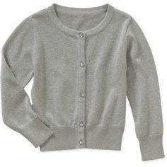 Healthtex Baby Toddler Girls' Lurex Cardigan, Toddler Girl's, Size: 12M, Silver