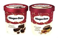 Chocolate week ended with some Haagen Daaz Ice Cream