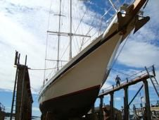 Boothbay Harbor Shipyard, Boothbay Harbor, Maine - Design, production and care of wooden vessels - facility and crew