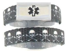 Skull and Crossbones Kids Medical Bracelet- I'm getting this for this!!!