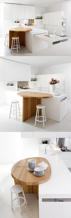 25 Unique Kitchen Countertops. #Kitchen Design